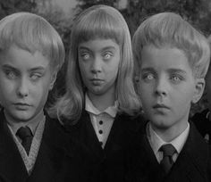 The creepy children- Village of The Damned