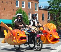 Baltimore You are Marvelous: Kinetic Sculpture Race and the SoBo ...