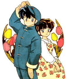 Ranma & Akane.
