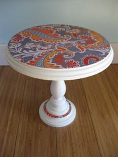 H is for Handmade: Cake Stand Tutorial
