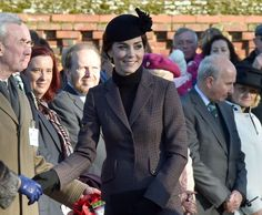 Duchess Kate: The Cambridges & Middletons Join the Queen for Sunday Service