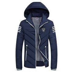 20e82451e43 Plus Size 8XL COTTON Long Warm Outwear Hooded Softshell Men s Winter Jacket  Man Trench Coat Ultralight