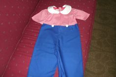 Raggedy  Andy Costume Baby  Toddler