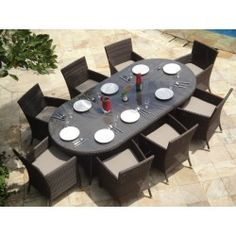 Rattan Sofa sets and Dining furniture, Teak Tables & chairs Costa blanca Delivery 7 to 14 days to the whole of Spain Rattan Outdoor Furniture, Dining Furniture Sets, Rattan Sofa, Dining Sets, Dining Tables, Table And Chairs, Outdoor Decor, Moraira, Teak Table