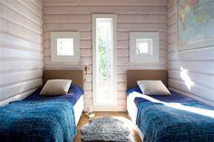 Sovrum i skärgårdshuset