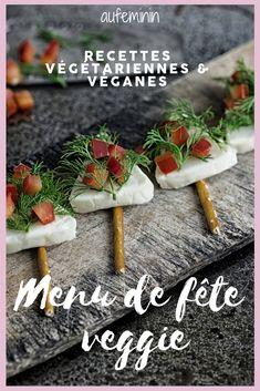 Découvrez des recettes de fête sans viande, végétariennes et véganes, concoctées par de grands chefs. /// #recettedechef #recettevegetarienne #recettevegane #recettevegetalienne #menuvegetarien #menudefete #menudenoel #noelvegetarien #vegetarien #vegan #aufeminin Canned Blueberries, Frozen Blueberries, Blueberry Scones, Vegan Blueberry, Veggie Christmas, Christmas Recipes, Veggie Recipes, Healthy Recipes, Vegan Scones