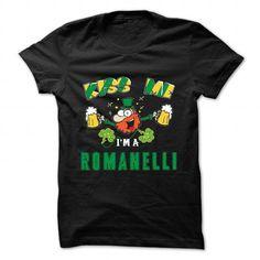 Awesome Tee St Patrick - Kiss me - ROMANELLI T-Shirts