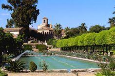 Jardines del Alcazar. Cordoba