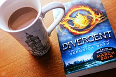 coffee & a book -- divergent
