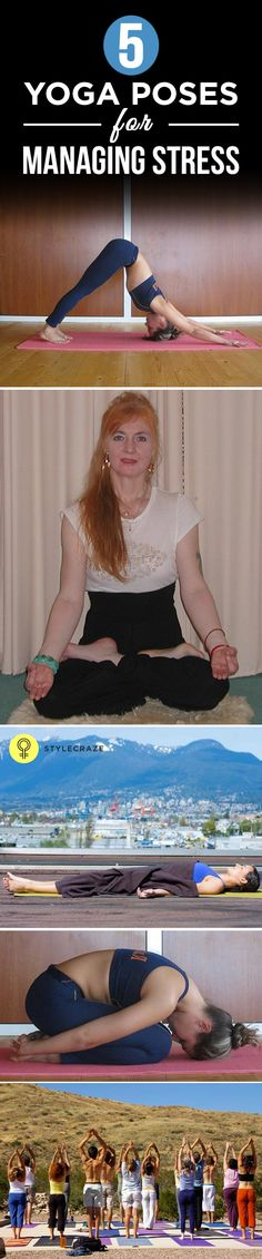 This write-up offers you a comprehensive view of various yoga poses that you could rely on to manage stress.