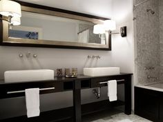 Get all the information you'll need on double vanities for bathrooms, and get ready to create an efficient and attractive bath space that accommodates multiple users.