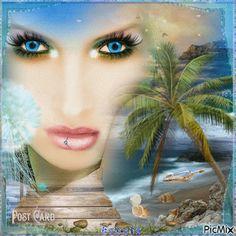 Blue Eyes At Sea