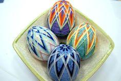 Easter Temari Egg 4 colours to choose
