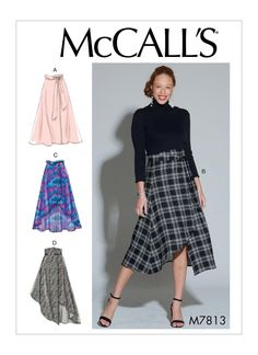 Skirt Fashion, Diy Fashion, Fashion Outfits, Fashion Trends, Fashion Clothes, Fashion Ideas, Fashion Tips, Mccalls Sewing Patterns, Simplicity Sewing Patterns