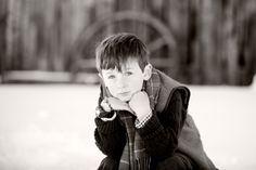 #winter #portrait of a #boy in #Colorado #beautiful #winter #image
