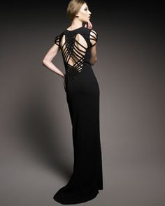 Jean Paul Gaultier Caged Cutout Gown - beautiful!