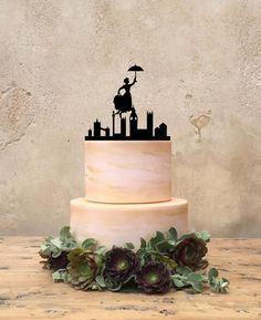 Mary Poppins Birthday Cake Topper Custom by CakeToppersJust4You