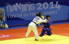 Atleta Karla Lorenzana de Judo