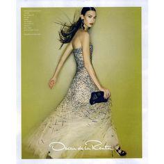 Oscar de la Renta Ad Campaign Spring/Summer 2010 Shot #2 ❤ liked on Polyvore