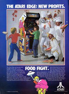 The Atari Edge: New Profits. Food Fight (1983)