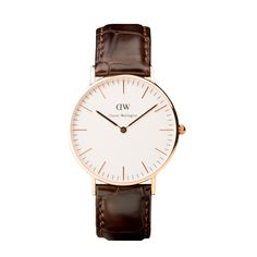 Classic Sheffield Ladies Daniel Wellington watch with black leather strap and rose gold case Daniel Wellington Classic Sheffield, Daniel Wellington Women, St Andrews, Cool Watches, Watches For Men, Stylish Watches, Women's Watches, Wrist Watches, Watches Online