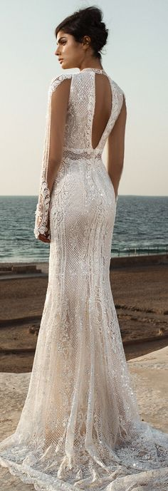 Fall Wedding Dresses 2017 GALA III by Galia Lahav / http://www.himisspuff.com/galia-lahav-fall-2017-wedding-dresses/7/