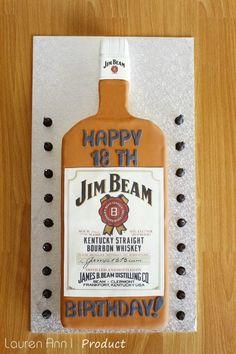Jim Beam Whisky Barrel 31kg Cakes For Him Pinterest