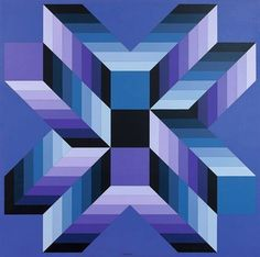 BIOS (P. 1093) - 1979-82 - Victor Vasarely