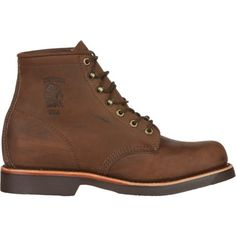 Chippewa Boots Men's Apache Classic Lacer Rugged Outdoor Boots (Chocolate Apache, Size 12) - Lace-Up Work Boots at Academy Sports