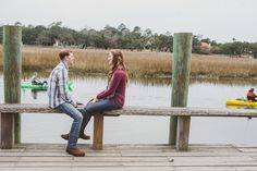Charleston Engagement Session with Jeanne Mitchum Photography on Borrowed & Blue.  Photo Credit: Jeanne Mitchum Photography
