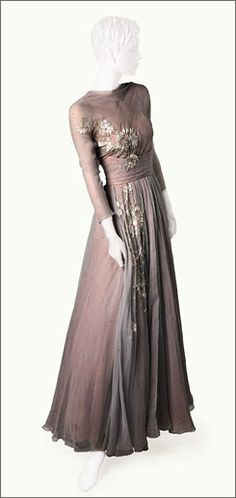 Helen Rose designed the ballgown worn by a young Grace Kelly in the 1956 musical comedy High Society