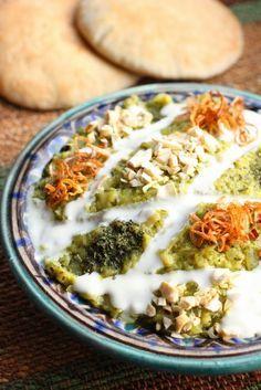 Dip iranien d'aubergines au roquefort ('Roquefort Bademjan')