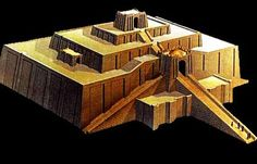 Ziggurat,   ALL ABOUT THE BIBLE » ZIGGURATS and the TOWER OF BABEL: what's the ...