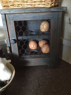 Egg cupboard Egg Storage, Cupboard Storage, My Pet Chicken, Primitive Cabinets, Egg Holder, Hobby Farms, Farmhouse Kitchen Decor, Wood Pallets, Wood Crafts