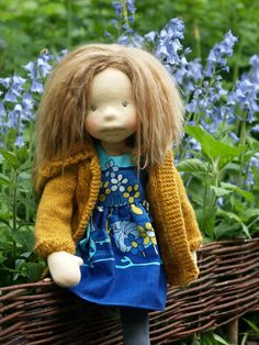 My Hermione Fibre Art doll made by Lalinda Photo Petra J.