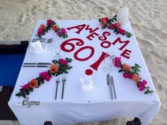 JA Manafaru birthday wishes Maldives, Birthday Wishes, Table Decorations, Desserts, Food, Home Decor, Art, Towels, The Maldives