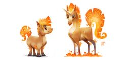 Kanto Illustrations #074 - 094- Created byPiper Thibodeau Piper continues to re-imagine the complete Pokedex, and this is the next install...