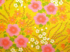 Yellow and Pink Hawaiian Floral