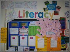 Creative Teaching Displays: Working Walls - Literacy and Maths Classroom Displays Ks2, Year 6 Classroom, Literacy Display, Teaching Displays, Class Displays, School Displays, Classroom Walls, Primary Classroom, Classroom Ideas