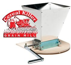 A Cereal Killer grain mill for $99.99 shipped!!! That is a damn good deal.