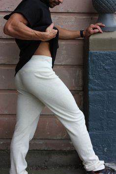 """new color: """"natural"""" for Unisex Hemp Slim Joggers"""