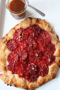 Blood Orange Tart » Lottie + Doof