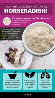 Horseradish uses - Dr. Axe http://www.draxe.com #health #holistic #natural