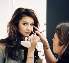 Nina Dobrev... omg my dream job doing her make up or taking her pic! :D