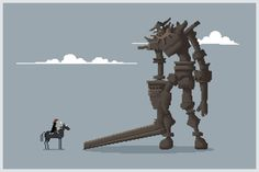 Pixel of the Colossus - Myers LD