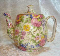 Royal Winton summertime   teapot