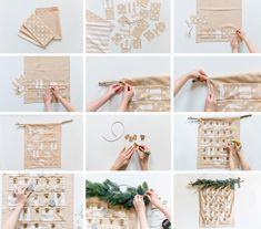 DIY: Adventskalender selber nähen | Alles und Anderes Christmas Decorations, Sewing, Blog, Crafts, Ramadan, Hacks, Tips, Ideas, Diy Advent Calendar