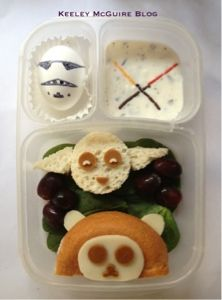 Gluten Free & Nut Free: School Lunch Star Wars, May the 4th be with you! #starwarscelebration