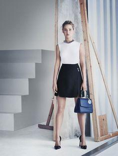 Jennifer Lawrence voor Be Dior Paolo Roversi fotografeerde de nieuwe tassencampagne van Dior