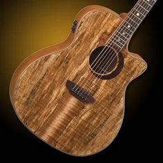 Hello Music, Luna Guitars, Spalted Maple, Guitar Design, Woodland, Woods, Join, Christmas, Playing Guitar